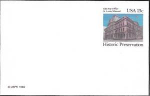 US Postcard Mint - Historic Preservation. Old Post Office, St Louis, Missouri