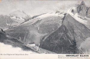La Flegere et l'Aiguille do Dru , ADV: CHOCOLAT KLAUS ; Switzerland , 00-10s