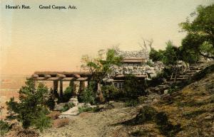 AZ - Grand Canyon National Park. Hermit's Rest (Fred Harvey)