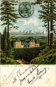 CPA AK Gruss aus St-ANNA i. d. Sudvogesen (452038)