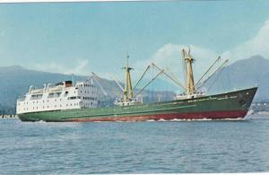 Angled Side View, The M.V. Northland Prince, Cargo Passenger Vessel, Vancouve...