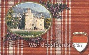 Castle Menzies Scotland, Escocia 1908