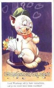 Artist Studdy Postcard Bonzo Dog Post Card Old Vintage Antique Series 5518 ...