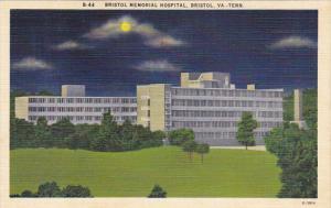 Bristol Memorial Hospital Bristol Virginia-Tennessee