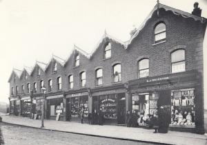 Wallington Sutton Victorian Hovis Bread Puppet Shop Post Office Postcard