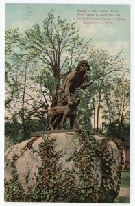 Cooperstown, N.Y., Statue of the Indian Hunter