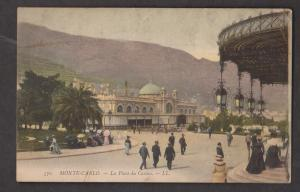 La Place Du Casino, Monte-Carlo, Monaco - Unused c1910s - Small Corner Crease