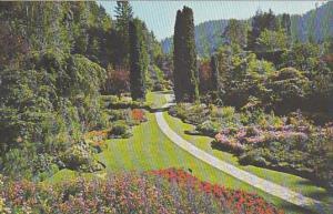 Canada British Columbia Victoria Sunken Gardens The Butchart Gardens