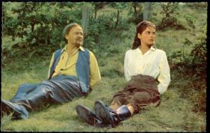 Actor JAN SID, Actress KARIN DOR (1962) Western