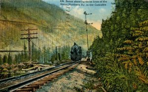 WA - Cascades. Three Lines of the Great Northern Railway