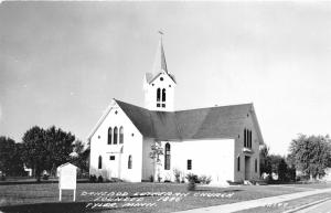 Tyler Minnesota~Danebod Lutheran Church~Founded 1886~1950s Real Photo Postcard