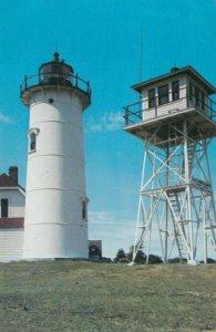 CHATHAM , Cape Cod, Massachusetts, 50-60s ; Chatham Light, Lighthouse