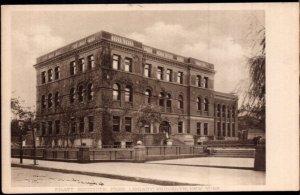 NY New York City BROOKLYN Pratt Institute Free Library - Divided Back