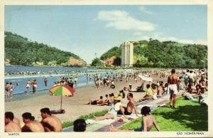 brazil, SANTOS, São Vicente-Praia (1960s)