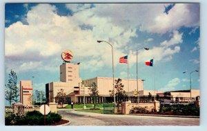 HOUSTON, TX Texas ANNHEUSER-BUSCH BREWERY  c1960s  Advertising Postcard
