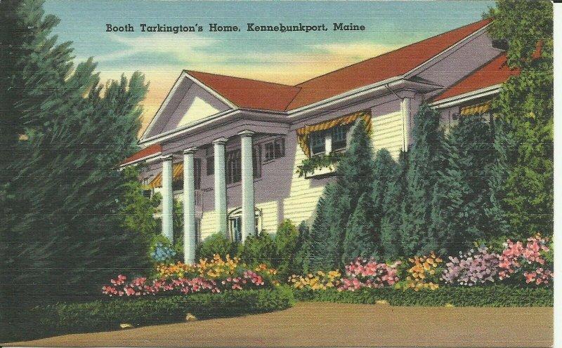 Kennebunkport, Maine, Booth Tarkington's Home
