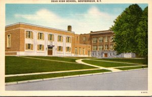 New York Gouverneur Dean High School