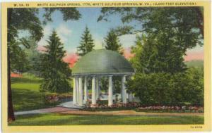White Sulphur Spring, White Sulphur Springs, West Virginia, WV, Linen