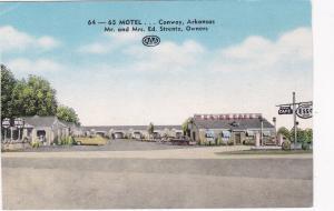 CONWAY , Arkansas , 30-40s ; 64-64 Motel