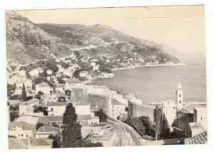 RP: Aerial View, Dubrovnik, Croatia, 1960 PU