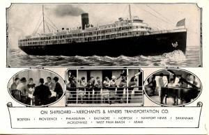 Merchants & Miners Transportation Co. - On Shipboard