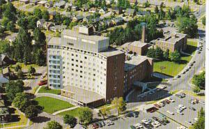 Canada Aerial View St Mary's Hospital Kitchener Ontario