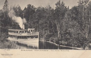 Steamer TOPINABEE, Inland Route, Michigan , 1900-10s