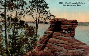 Wisconsin Dells Of The Wisconsin River The Devils Anvil 1920