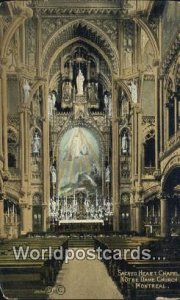 Sacred Heart Chapel, Notre Dame Church Montreal Canada Unused