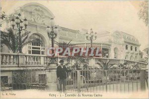 Postcard Old Vichy New Casino Package (card 1900)