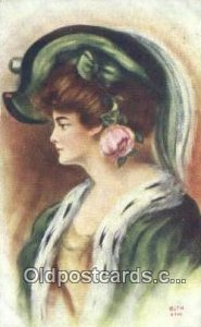 Artist Reynolds, Frank 1910 crease left bottom corner, very light wear
