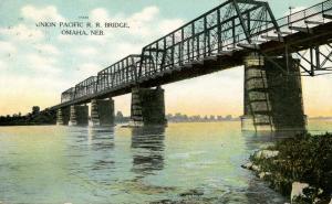 NE - Omaha. Union Pacific Railroad Bridge