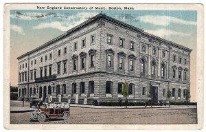Boston, Mass, New England Conservatory of Music
