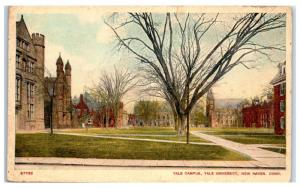 1932 Yale University Campus, New Haven, CT Postcard