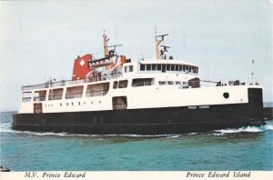 M.V. Prince Edward,  Prince Edward Island,  Canada,  50-70s