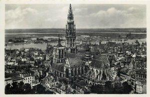 Belgium Anvers Antwerpen Panorama du Torengebouw photo postcard