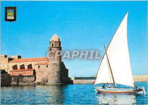 Postcard Modern Light and Colors of the Cote Vermeille Collioure