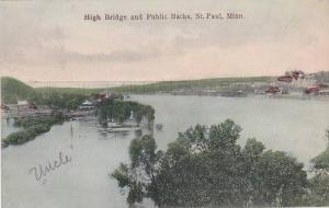 High Bridge & Public Baths, St. Paul, Minnesota, 1900-1910s