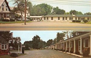 Portland Maine Tiltons Motel Multiview Vintage Postcard K825839