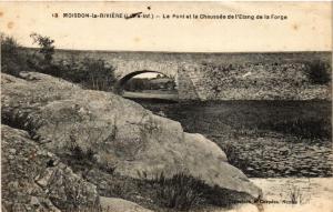 CPA  Moisdon-la-Riviére (Loire-inf.) - Le Pont et la Chaussée de l'Etang(588055)