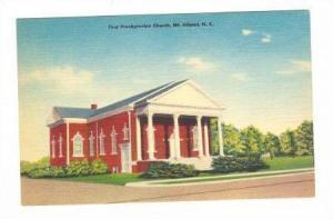 First Presbyterian Church, Mt.Gilead, North Carolina, 30-40s