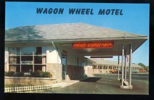 West Springfield, Massachusetts/MA/Mass Postcard, Wagon Wheel Motel
