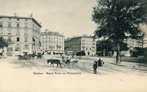Switzerland - Geneva, Rond Point de Plainpalais