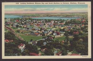 Monona Bay,South Madison,Madison,WI Postcard