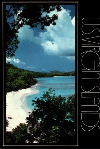 U S Virgin Islands St John Hawk's Nest Beach