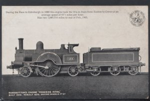 Railway Transport Postcard - Ramsbottom's Engine Princess Royal    DC2254