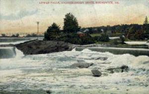 Lower Falls Brunswick ME 1909