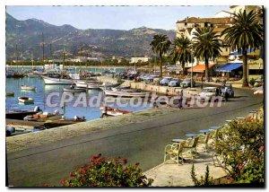 Modern Postcard The Port De Plaisance Calvi A Wonderful Framework