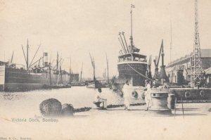 BOMBAY, India, 1900-10s; Victoria Dock