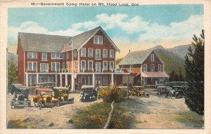 LPS61 Mt. Hood Loop Oregon Government Camp Hotel Postcard